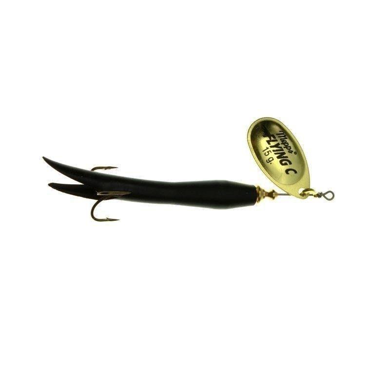 Mepps AGLIA FLYING złota / czarna 15g