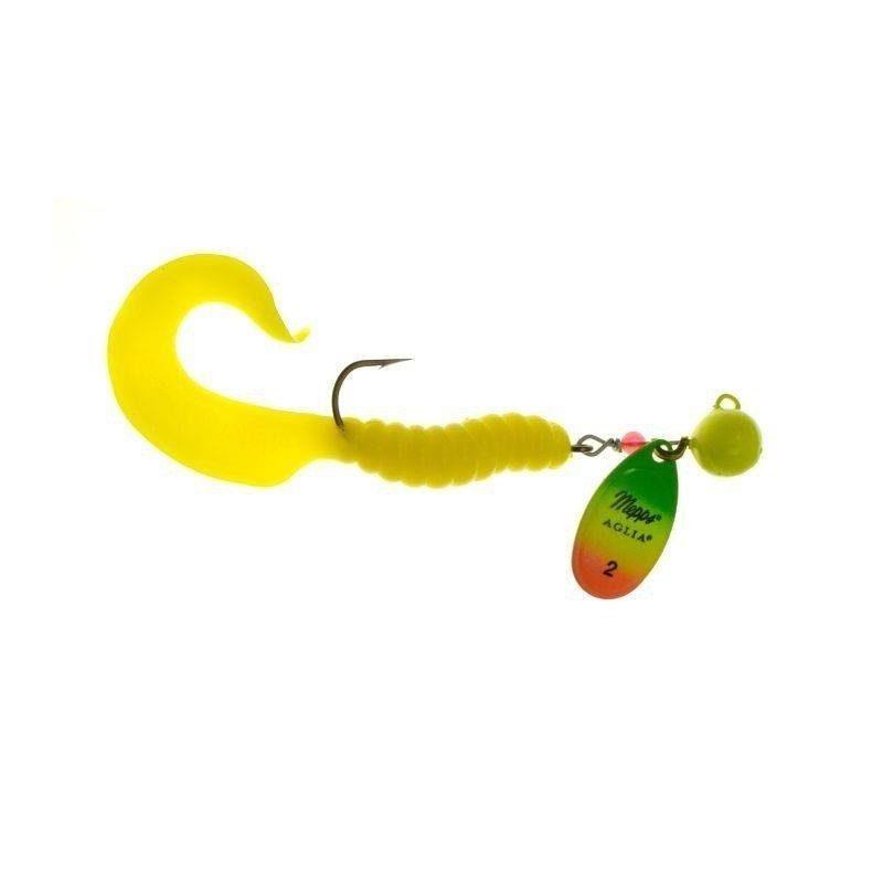 Mepps AGLIA SPINFLEX tiger / żółty twister 20g