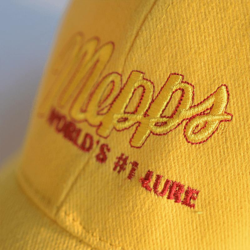 mepps-czapka-zolta-naszywaka